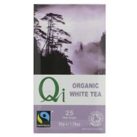 Qi Fairtrade Organic White Tea 6 x 25 Bags